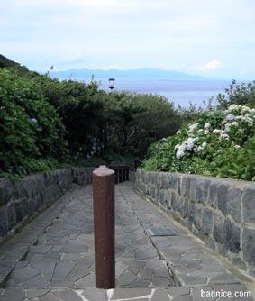 階段国道入り口