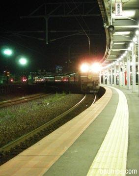 函館駅はまなす入線