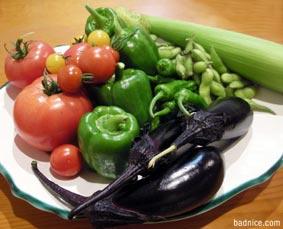 エンドルフィンの野菜達