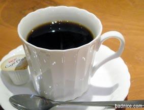 赤坂パスタのコーヒー