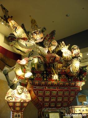 弘前観光館のねぶた