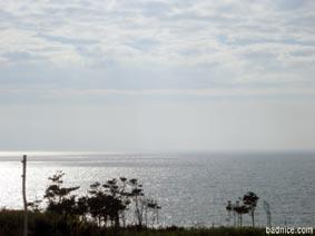 秋田からの日本海