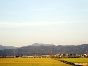 酒田からの景色