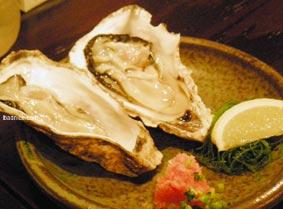 松風の牡蛎