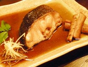 松風の銀鱈煮