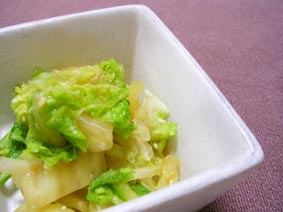 白菜味噌漬け