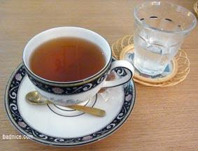 仙台カフェの紅茶