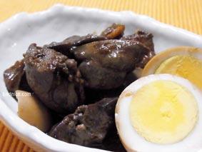 レバー生姜煮