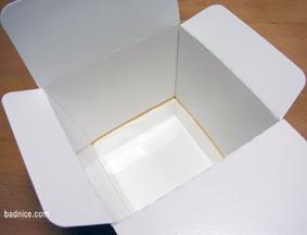 カップご飯の空箱