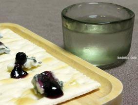 ブルーチーズと日本酒