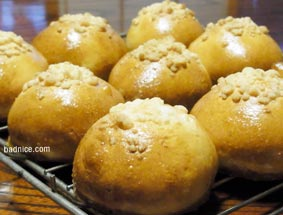 焼き立てクリームパン