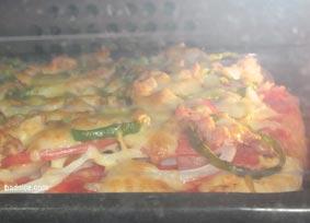 焼き途中ピザ