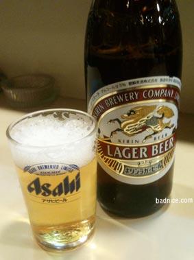 12/15瓶ビール