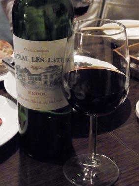 ミニヨン3本目のワイン