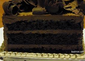 代官山チョコケーキ断面
