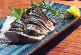 新宿炙りシメサバ