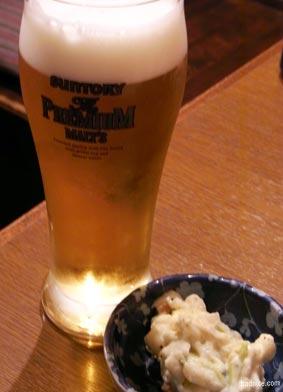 5/18松風のビール