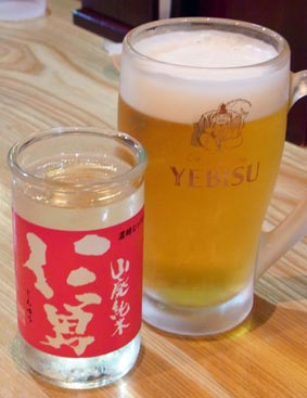 チムそばのビール