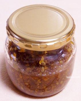 食べる生姜瓶
