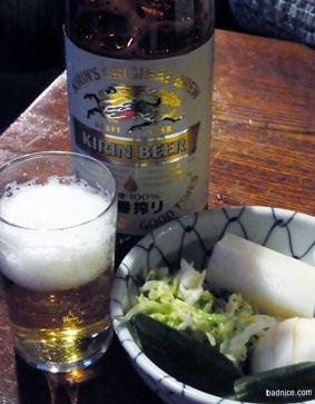 伊勢屋のビール