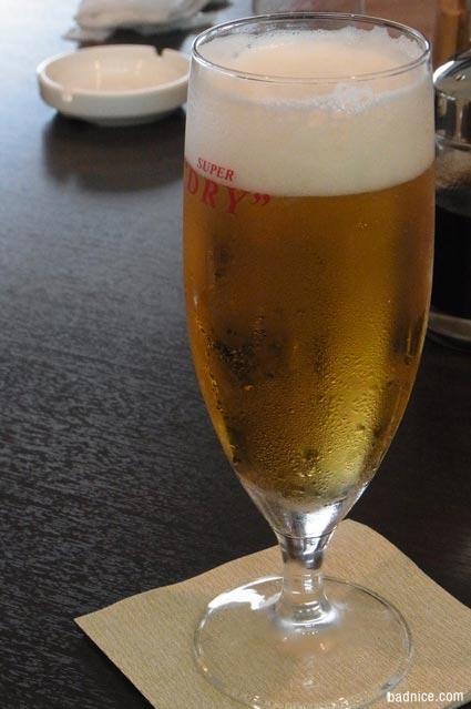 80回ダービー昼ビール