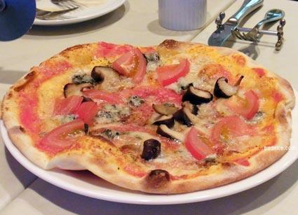 フローラのピザ1