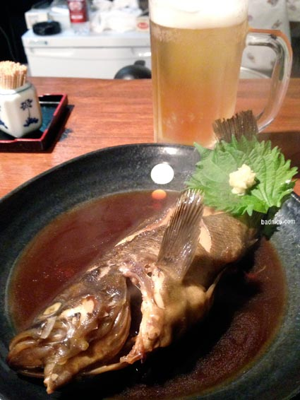ジロー煮魚