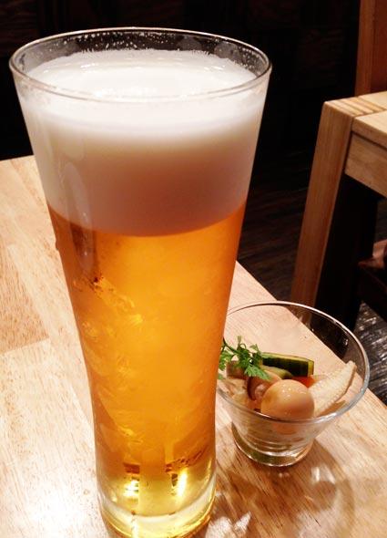 東京オーブンの生ビール