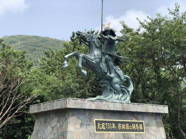 宗助国公の像