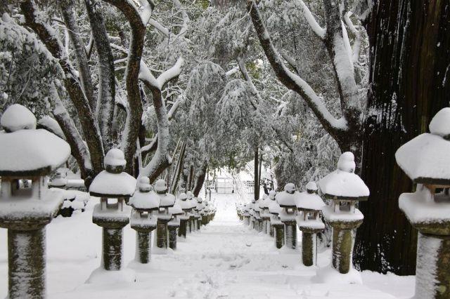 雪の万松院2