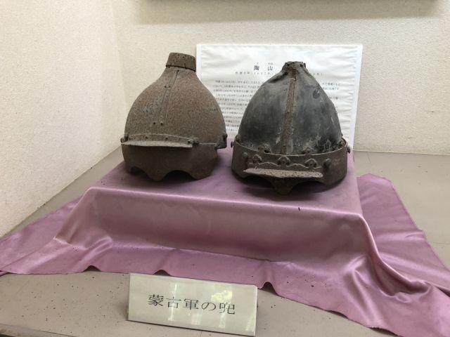 蒙古軍の兜1