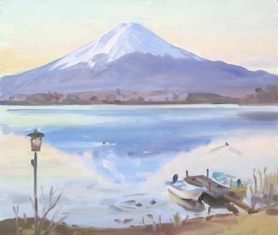 出来立ての富士山の絵を一枚の絵ギャラリーにてご覧いただけます。