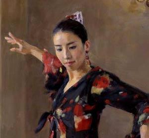 """優しい寿子先生ですが、舞台の上ではとても大胆で躍動的。ついたあだ名は""""暴れ馬""""だそうです。。"""
