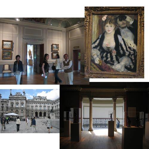 建物も内装も素敵な美術館
