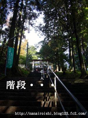 幣立神社 幣立神宮 階段