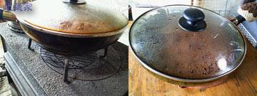 薪ストーブユーザーは、高さの違うトリペッドをいくつも盛ってると便利♪