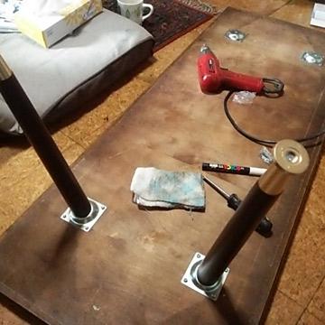 作業テーブルDIY
