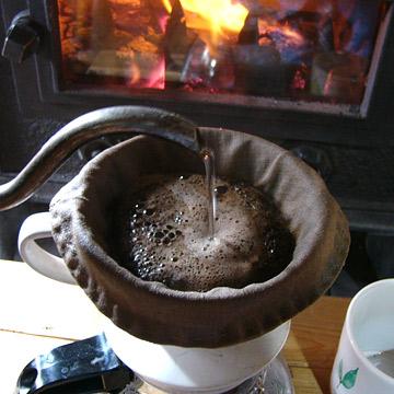 オーガニックリネンのコーヒーフィルター