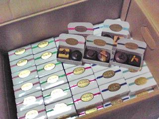 チョコ雑貨「ショコラdeマグネット・2個入り」