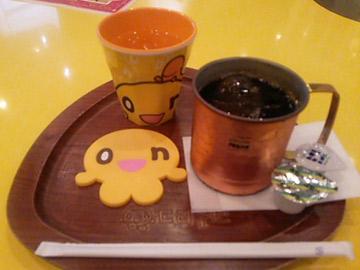 onちゃんcafeのアイスコーヒー