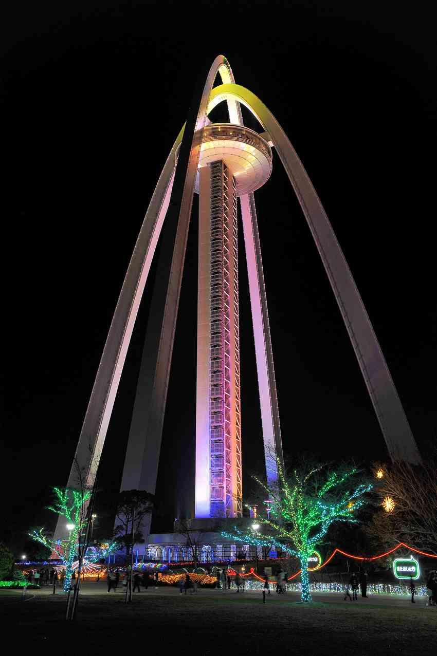 138タワー イルミ-11