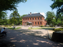 石川近代美術館(旧制4高図書館)