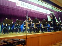 三国高校吹奏楽部による演奏