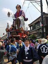 三国祭保存振興会山車(大石内蔵助)