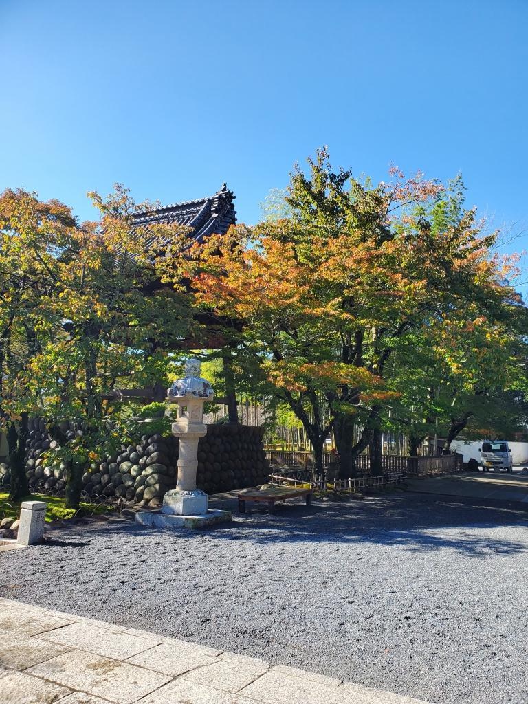 修善寺の紅葉状況(修禅寺)