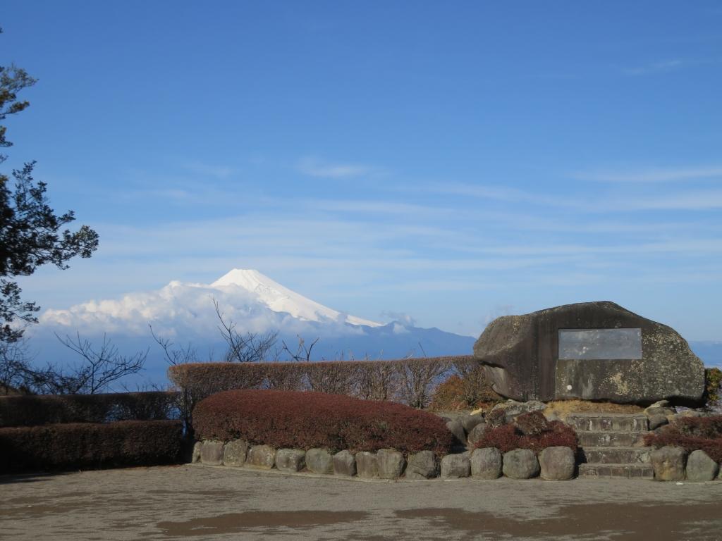 久しぶりに真っ白な富士山...