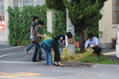 佐川印刷CSRプチ美化運動