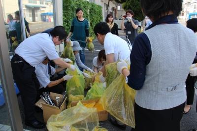 佐川印刷CSR プチ美化運動
