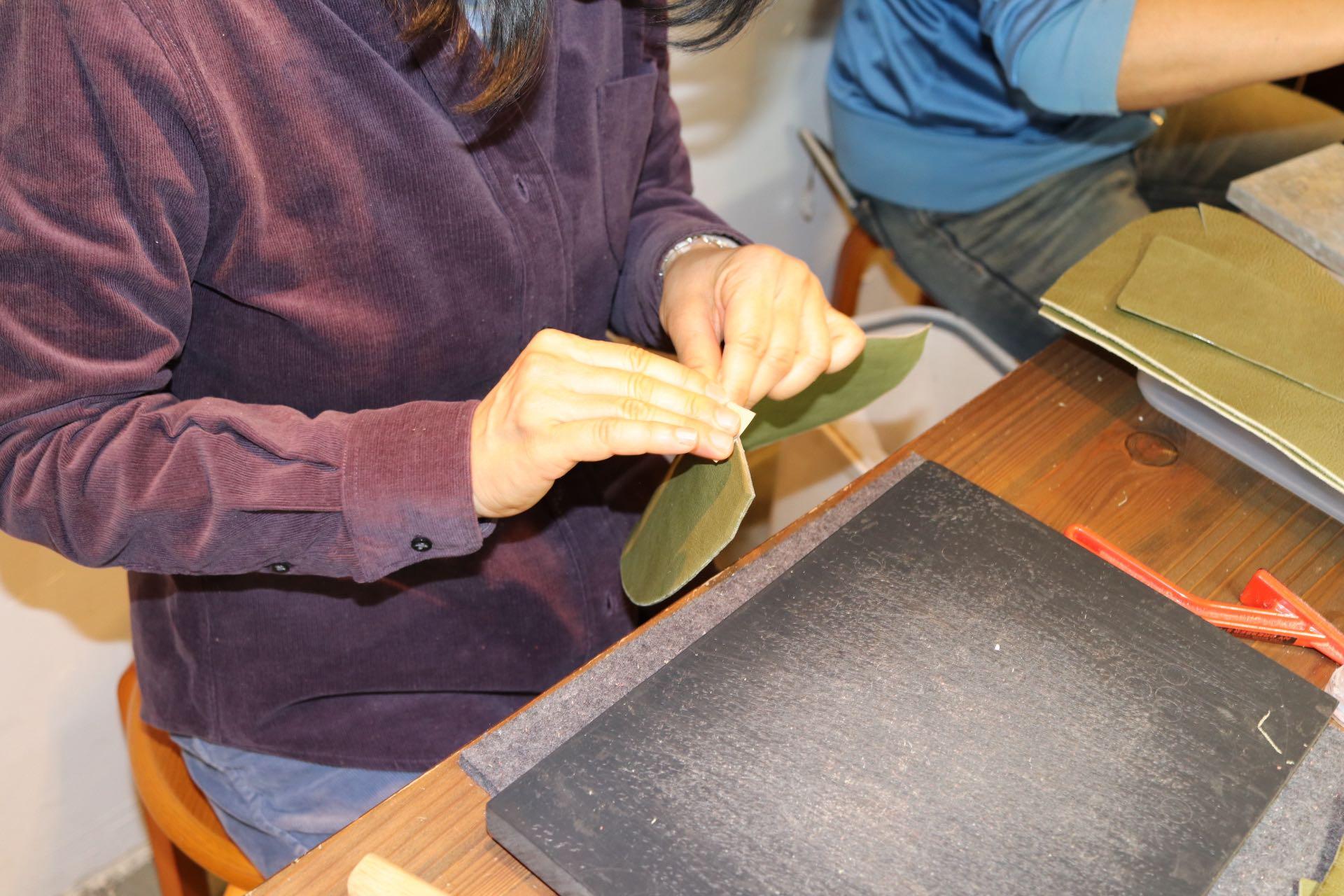 革細工の教室