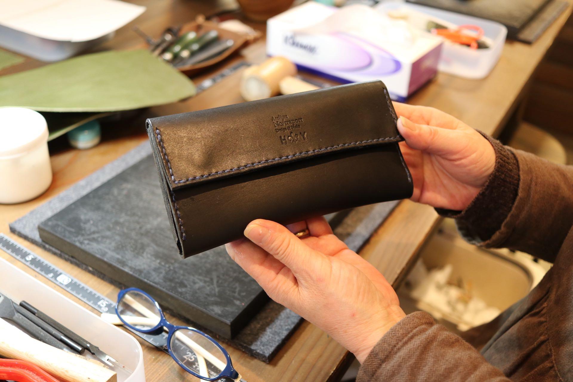 手作りの財布
